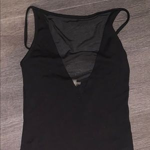 SILENCE + NOISE BLACK TOP W/ MESH MIDDLE